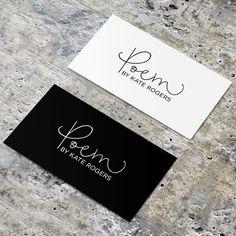 Vooraf klaargemaakt Logo toe te voegen uw bedrijf naam - Style - gedicht