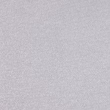 Metallic Silver Stretch Polyester Jersey