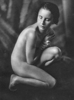 Nude, French/Javanese Woman  Vintage PhotoGravure printed by Buchverlag - Germany in 1926