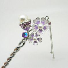 Oriental hair sticks/ hair pin/ Bridal headpieces/ by uniquedkz