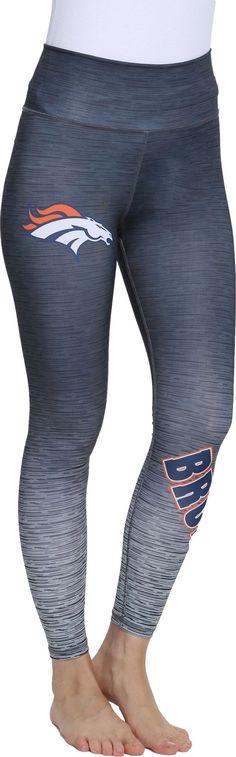 Concepts Sport Women s Denver Flyaway Charcoal Leggings Charcoal Leggings b7ac7abd0