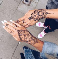 262 Meilleures Images Du Tableau Modeles Tatouages Au Henne Henna