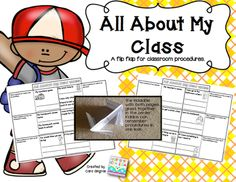 FREEBIE for classroom procedures