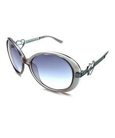 Love this Blue Heart Oval Sunglasses - Women by GUESS on  zulily!   zulilyfinds 43945fc132