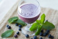 The blueberries and coconut in this smoothie will take your potassium and magnesium levels up a notch while decreasing your LDL cholesterol.