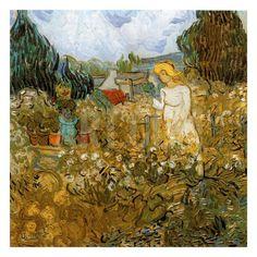 Marguerite Gachet Dans Son Jardin Art Print by Vincent van Gogh at Art.com