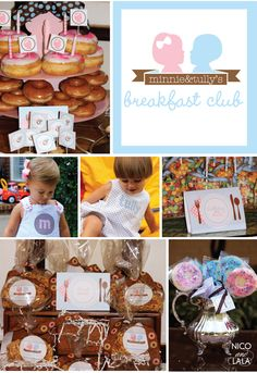 Minnie and Tully's twins birthday breakfast | Nico and Lala