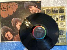 Beatles Rubber Soul 1965 Mono LP Original Insert Capitol T 2442 Rubber Soul Beatles, Capitol Records, British Invasion, The Beatles, Rock N Roll, Vinyl Records, Lp, Corner, The Originals