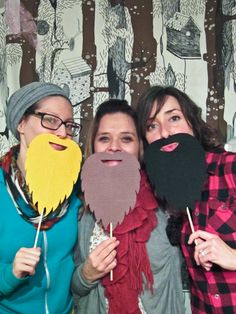 lumber jack photo booth