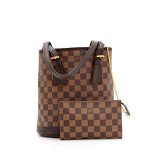 85dcb0376980 Louis Vuitton Louis Vuitton Marais Ebene Damier Canvas Shoulder Bag + Pouch.  Authentic Louis Vuitton Marais in ...