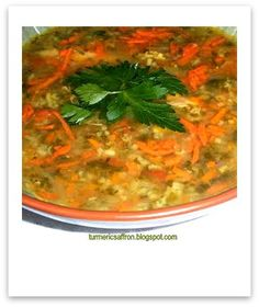 Persian Food: Chicken Soup w/ recipe