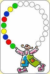 Patterns About Colors Preschool Circus, Circus Crafts, Preschool Education, Kindergarten Worksheets, Preschool Activities, Activities For Kids, Theme Carnaval, Math Patterns, Do A Dot