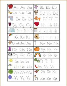 Trace the letters A to Z This is a tracing worksheet that reinforces each letter sound. It provides students with practice in letter formation as well as matching capital . Preschool Letters, Learning Letters, Preschool Kindergarten, Preschool Learning, Preschool Activities, Teaching Kids, Kids Learning, Learning Spanish, Teaching Resources