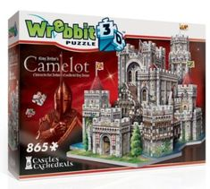 WREBBIT 3D puzzle Hrad Kamelot 865 dílků   Puzzle-puzzle.cz