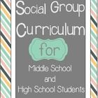 An entire social group curriculum for a year! This huge 70 page packet includes everything from starting up your first social group to providing 20 lessons your students will love! Social Skills Autism, Social Skills Lessons, Social Skills Activities, Teaching Social Skills, Counseling Activities, Social Emotional Learning, Group Counseling, Life Skills, Therapy Activities