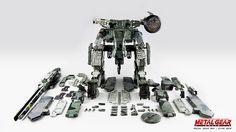 THREEA Metal Gear Solid Rex