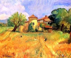"""Charles CAMOIN """"Moulin de Barbeyrolles"""""""