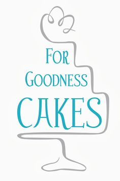 Cake logo - For Goodness Cakes - Great logo design
