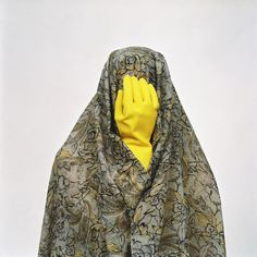 """Like Everyday Series"", photos by Shadi Ghadirian. Tehran, Iran."