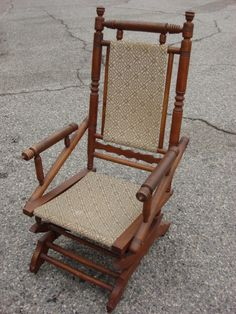 Antique Victorian Eastlake Carved Walnut Platform Rocker Rocking Chair | eBay | Color/Design | Pinterest | Rockers Victorian and Rocking chairs & Antique Victorian Eastlake Carved Walnut Platform Rocker Rocking ...