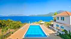 Situated by the sea the complex of Green Bay Hotel is in Karavomilos Village. It has an outdoor salt water pool and a poolside snack bar. Green Bay Hotel Karavomylos Greece R:Ionian Islands I:Kefalonia hotel Hotels Double Room, Salt And Water, Mountain View, Great View, Green Bay, Terrace, Swimming Pools, Greece, Snack Bar