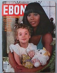 Donna Summer with her daughter Mimi Ebony