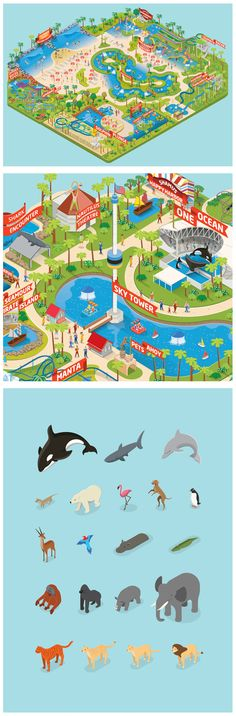5 Travel Tips to Ensure a Great Orlando Florida Vacation Orlando Map, Orlando Travel, Orlando Vacation, Florida Vacation, Florida Travel, Disney Vacations, Disney Trips, Theme Park Map, Seaworld Orlando
