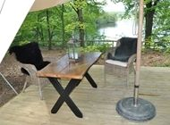 Dicovering glamping in Silkeborg, DK glam + camp = great :)