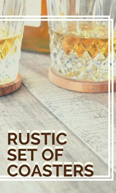 Our wooden rustic holder and coaster set of 6 are made from a solid of olive wood. #OliveWoodKitchenAccessories