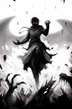 E no vale das almas, os espíritos acorrentados se levantam.