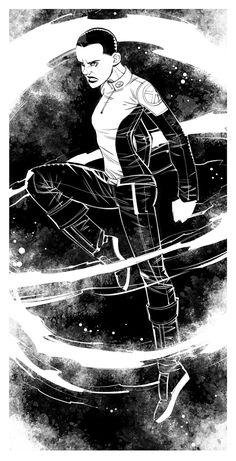 Negasonic Teenage Warhead. Fanart. Digital. :) Negasonic Teenage Warhead Marvel, Comics Girls, Deadpool, Hero, Fan Art, Digital, Movie Posters, Movies, Character