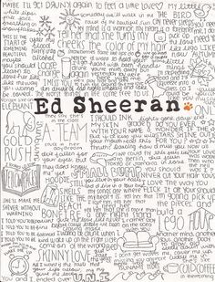 All Things Ed Sheeran ❤