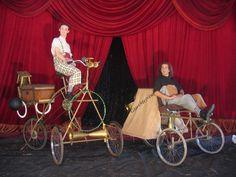 Triciclos especiales para espectaculo.