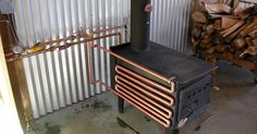 Wood stoves, Stove and Water on Pinterest