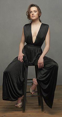 Star Wars superstar: British actress Daisy Ridley...