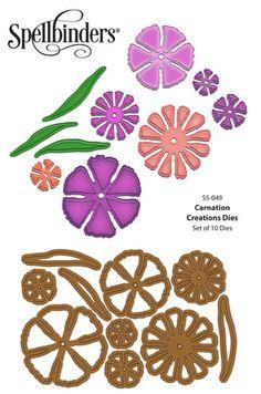 Carnation Creations Dies