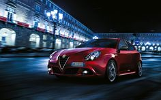 Red Alfa Romeo Giulietta Sprint 2015
