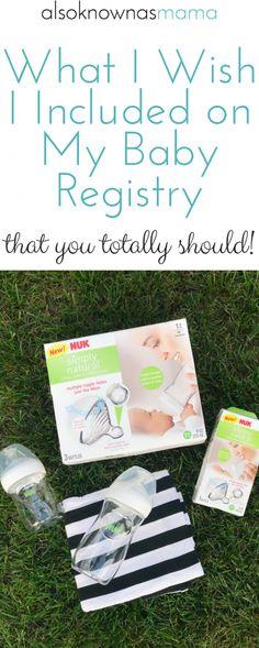 #ad Baby Registry Must-Haves | Nuk Simple Natural Bottles #SimplyBonding