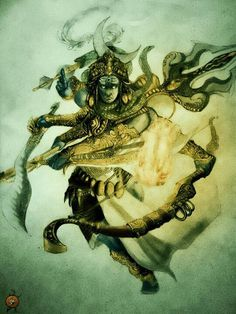 Shiva in fury Kali Shiva, Shiva Art, Shiva Shakti, Hindu Art, Ganesha Art, Indian Gods, Indian Art, Wicca, Magick