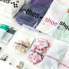 Free Shipping 23PCS/Set Vacuum Storage Bag Space Saving Compressed Bag For Clothes Shoes Cosmetic Jewelry Travel Organizer Bags US $11.50