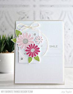 All Smiles Card Kit, Tag Builder Blueprints 5 Die-namics - Joy Taylor  #mftstamps