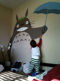 i would totally paint him on my wall :D