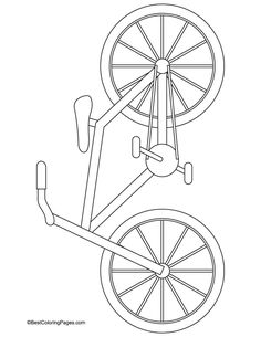 46 Ideas Sport Art Projects For Kids Coloring Pages Bicycle Crafts, Bike Craft, Kids Bicycle, Bicycle Art, Bicycle Design, Toddler Crafts, Preschool Crafts, Toddler Art, Projects For Kids