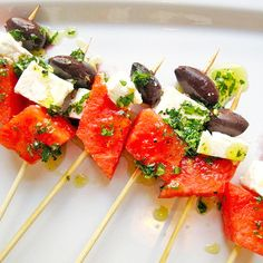 Watermelon Feta Skew