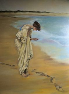 The Sea Hath its Pearls - William Henry Margetson 1897