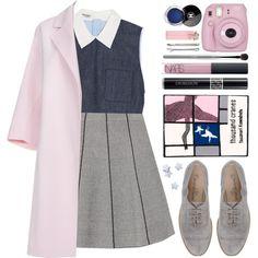 #862 Dany by blueberrylexie on Polyvore featuring moda, Miu Miu, Paul Smith, Zara, Emanuela Passeri, Olympia Le-Tan, Madewell, Christian Dior, NARS Cosmetics and esum