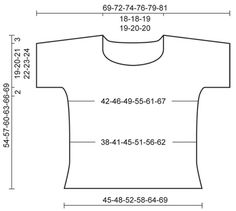 """Summer Lights - DROPS pulovr s krátkým rukávem pletený vroubkovým vzorem z příze """"Paris"""". Velikost: S-XXXL. - Free pattern by DROPS Design"""