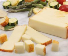 A lower sodium version of our traditional Muenster cheese.  Made under the watchful eye of Wisconsin Master Cheesemakers, this mellow and smooth cheese is hand-crafted and accented with an edible natural Annatto colored rind.