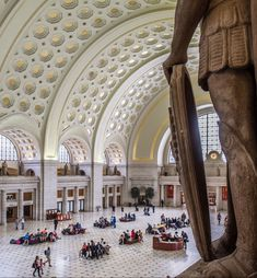 The more than 100,000 people who pass through Union Station daily can now appreciate Burnham's original vision for the space.