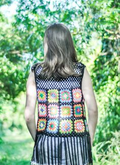 Ravelry: Colete Granny Square by Isabel Farias